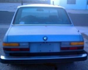 1985 BMW 528e