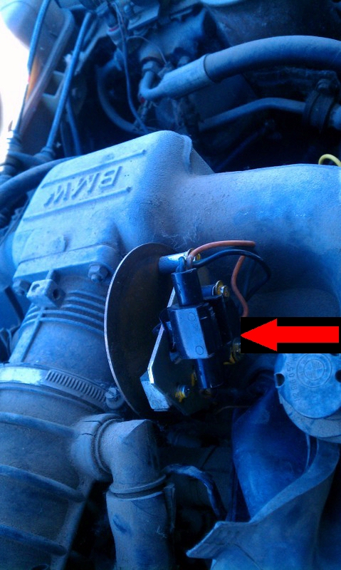 Bmw E28 5 Series M30 Engine Eh Transmission Throttle